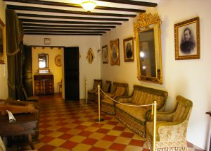 Casa Orduña de Guadalest. Salón