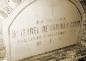 Sepulcro de Isabel de Orduña