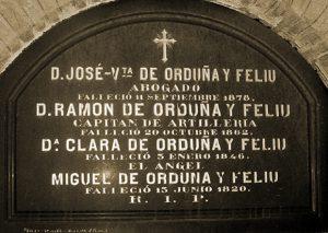 Cripta común de los cuatro hermanos