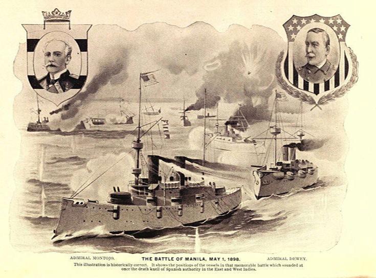 Batalla de Cavite, mayo de 1898
