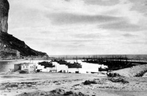 Puerto de Calp en los 40 del siglo pasado
