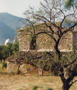 Casa de Les Duranes,. Xaló, 1990.
