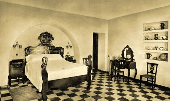 Habitación del Parador de Ifach. Calp