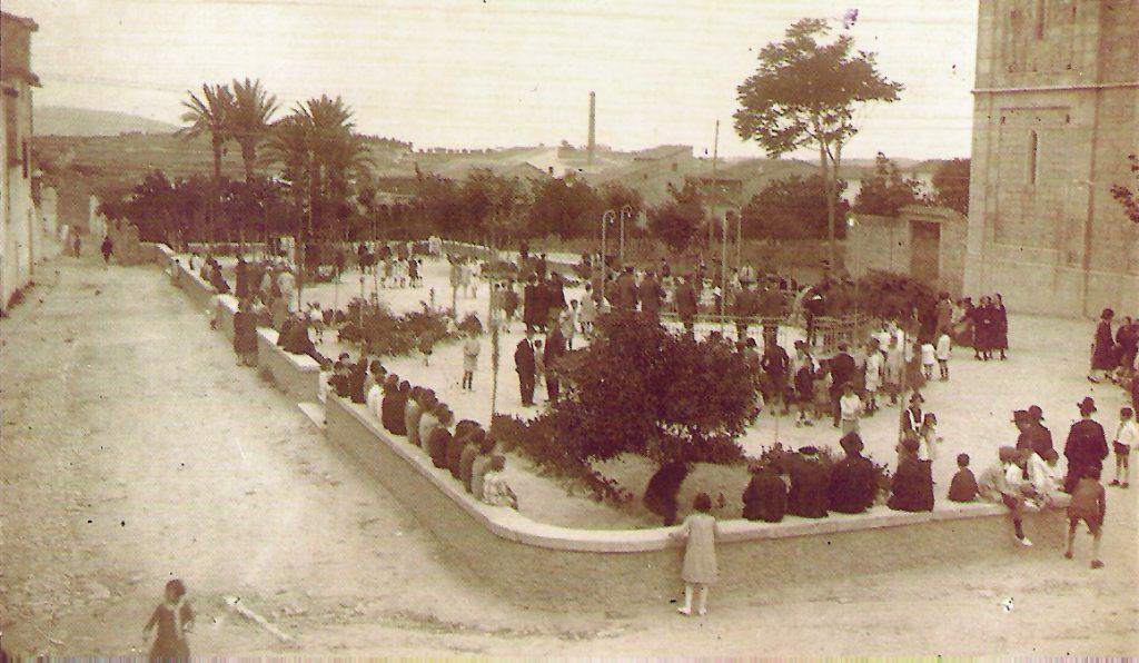 Benissa, inicios del s. XX. Fuente: Alicantevivo