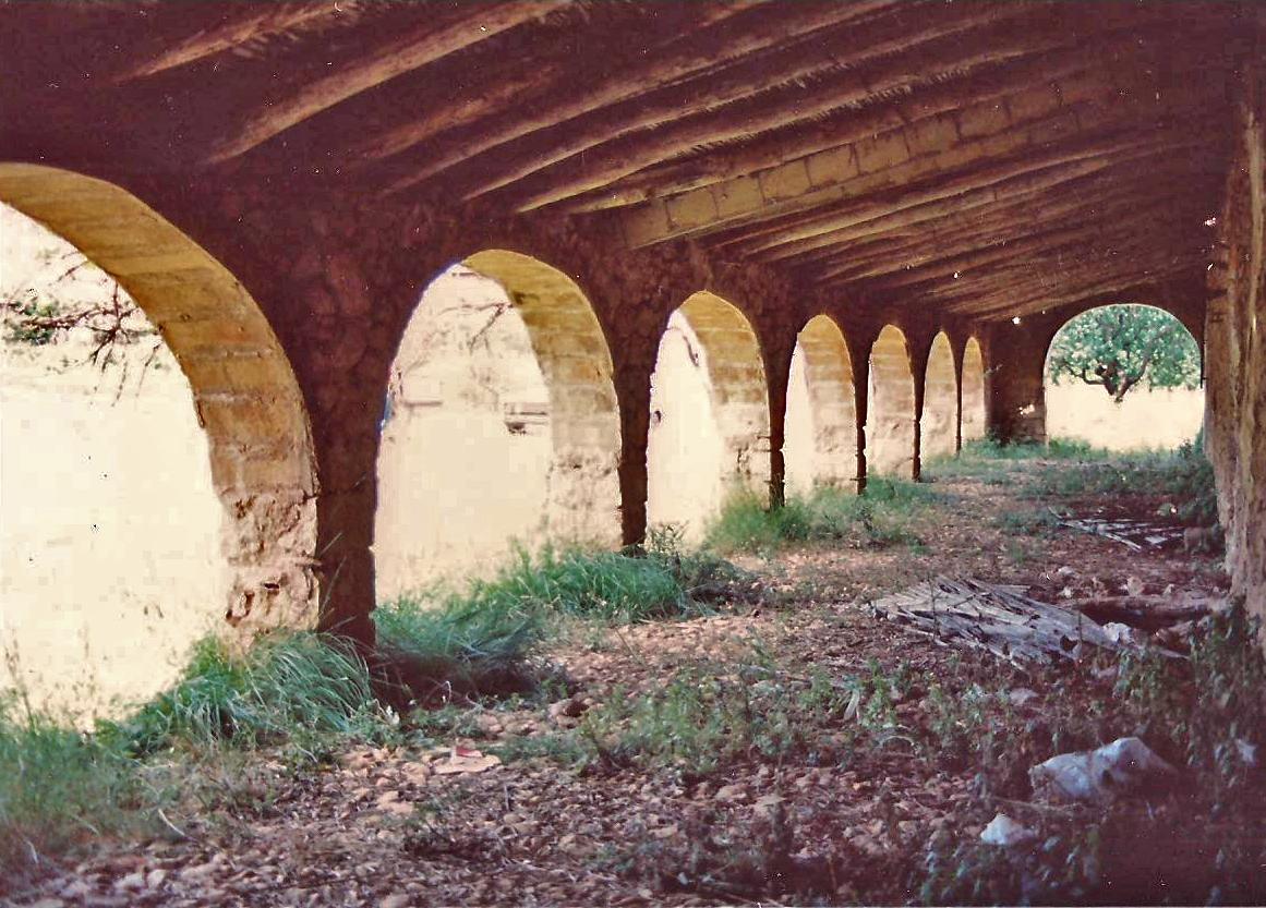Riu rau de Les Duranes, en 1990