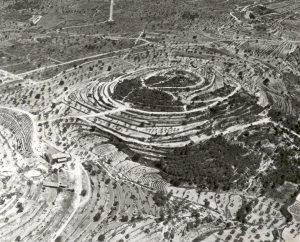 Tosal de Taleno o del Tabaco, terreno donde se desarrollaría la Urbanización Cometa III. Imagen: archivo privado de Jacky Vázquez