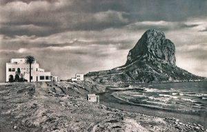 Parador de Ifac, junto a la playa del Racó, propiedad de García Sapena.