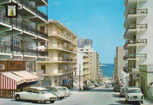 Avenida de Gabriel Miró. Años 70 del pasado siglo. Foto: archivo privado de Jacky Vázquez