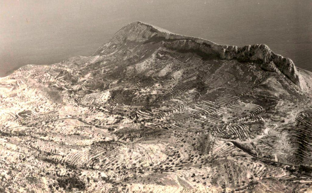 La Canuta-Toix, años 60, antes del proceso de urbanización. Foto: Jacky Vázquez