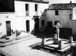 Plaza de la Villa. Años 60. Imagen: www.historiadecalp.net